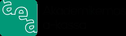 Akademikernas arbetslöshetskassa a-kassa Logotyp